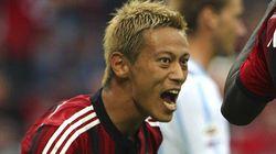 本田圭佑、開幕戦でゴール セリエA・2014-15シーズン【画像集】