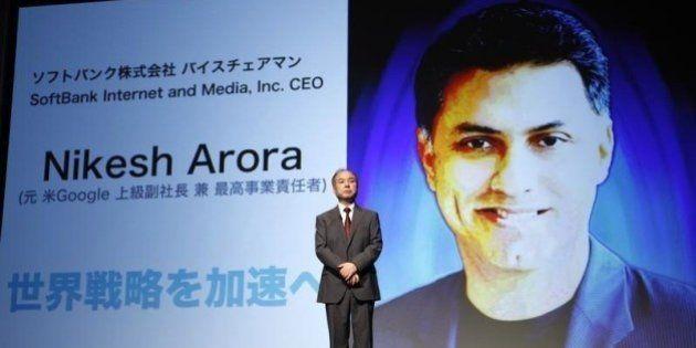 ソフトバンク、アローラ氏が代表取締役に 孫正義社長「最重要の後継者候補」