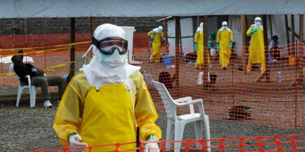 エボラ出血熱感染、2万人超える可能性=WHO