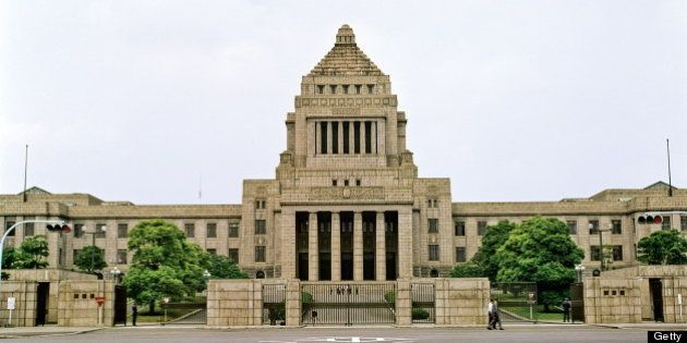 Diet Government Building, Tokyo, Japan. (Photo by Independent Picture Service/UIG via Getty