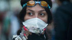 クリエイティブなガスマスクたち:トルコ