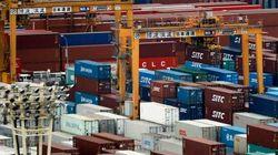 貿易赤字、22カ月連続