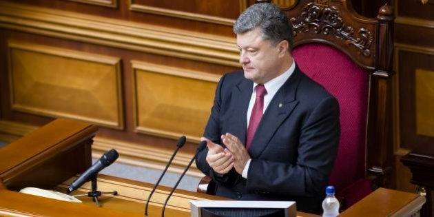ウクライナ大統領が議会を解散 10月26日に総選挙