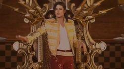 マイケル・ジャクソン、特殊技術でステージに復活 全盛期のダンスを披露【動画】