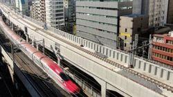 上野東京ライン、建設現場を公開 新幹線の上に新線乗せる「終電から始発まで限定の前例ない工事」
