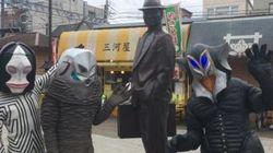 ウルトラ怪獣が東京の下町を我が物顔で?