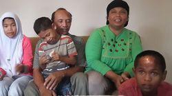 津波で生き別れになった兄妹が10年ぶりに両親と再会