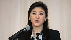 タイのインラック前首相、国外逃亡の臆測否定