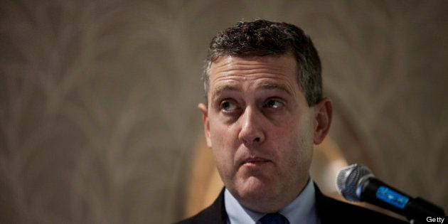 James Bullard, president of the Federal Reserve Bank of St. Louis, speaks at the American Economic Association's...
