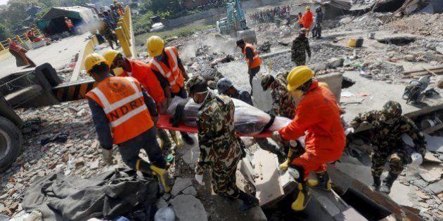 ネパール大地震、死者6200人に