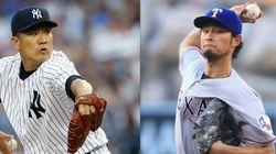 田中とダルビッシュ、オールスターに選出 大リーグ