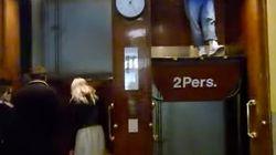 100年前のエレベーター「パーテルノステル」が怖い 扉もないし止まらない【動画】