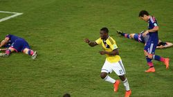 ワールドカップ日本代表、コロンビアに1−4で完敗