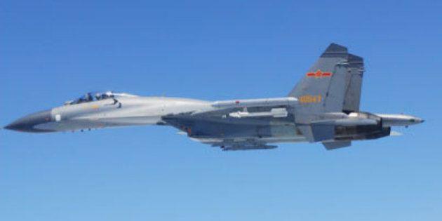 中国機が自衛隊機に異常接近 小野寺防衛相「戦闘機にはミサイルが搭載されていた」