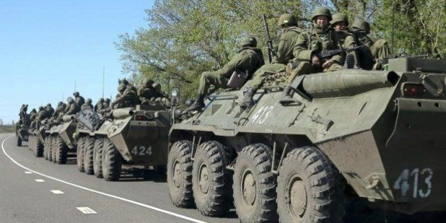 ロシア軍がウクライナ国境で部隊増強、1万人以上に NATO推定