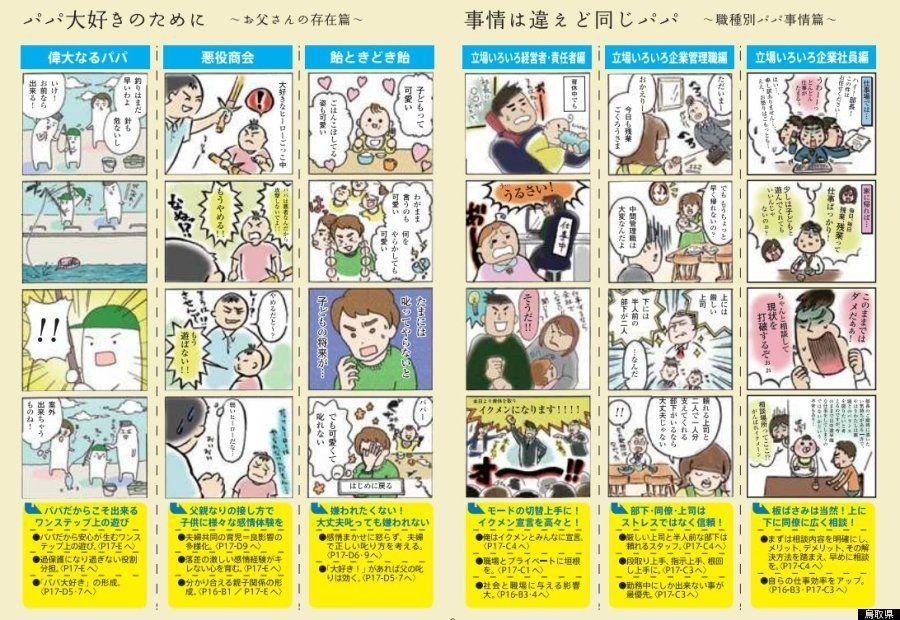 ご当地「父子手帳」増加 和歌山市は「パパタイプ」診断チャート【画像】