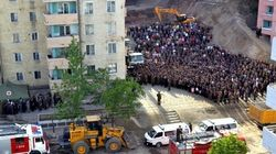 北朝鮮・平壌で高層アパート崩壊 多数の死者か