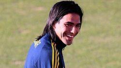 コロンビア代表から落選したファルカオ、笑顔の理由が男前すぎる