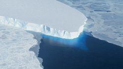 南極西部の氷床、数百年で消失か
