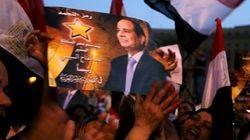 エジプト大統領選、シシ前国防相圧勝か