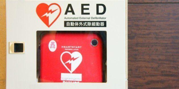 AED搭載タクシーをスマホで呼び出し