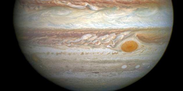 木星の「大赤斑」が縮小、19世紀後半の3分の1に