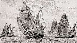 コロンブスの船、ついに発見か