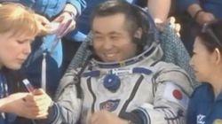 若田光一さんが地球に帰還