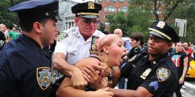 ニューヨーク市警、Twitter使ったキャンペーンが思わぬ事態に【画像】
