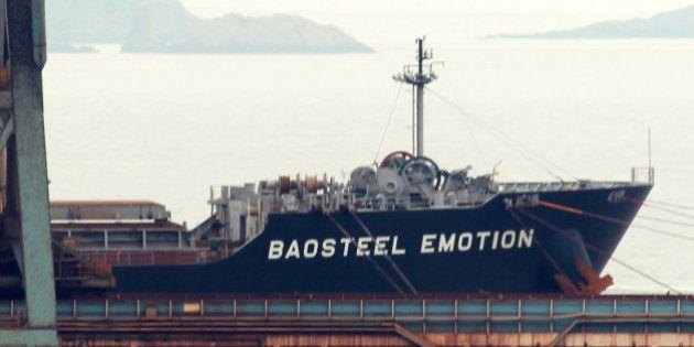 商船三井、中国に40億円 貨物船「バオスティール・エモーション」の差し押さえ解除