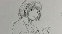 江口寿史さんがたった5分で描いたスケッチがすごい【画像】