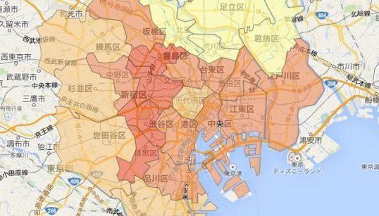 東京23区、進学率が高い地域はどこ?