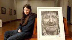 16歳の少女が鉛筆だけで描いた肖像画がすごい