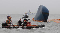 韓国旅客船沈没、さらに10遺体で死亡者46人に 事故当時操縦の航海士は経験不足?