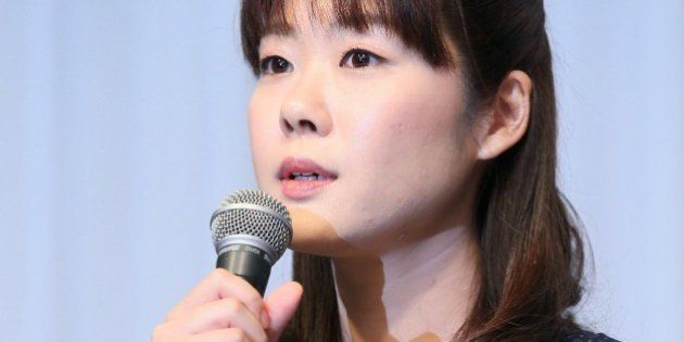 Haruko Obokata, 30, a female researcher of Japan's Riken Institute speaks at a press conference in Osaka,...