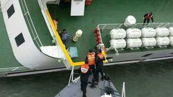 韓国旅客船沈没「客室にいて」と繰り返し放送