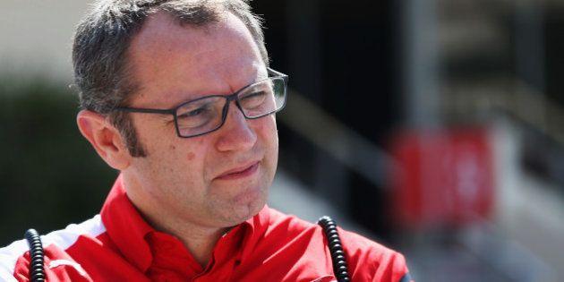 BAHRAIN, BAHRAIN - MARCH 02: Ferrari Team Principal Stefano Domenicali is seen in the paddock during...
