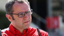 フェラーリF1チームの代表、成績低迷で辞任