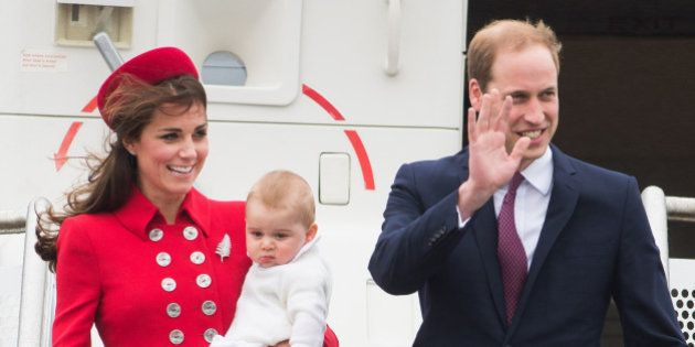 WELLINGTON, WELLINGTON - APRIL 07: Prince William, Duke of Cambridge, Catherine, Duchess of Cambridge...