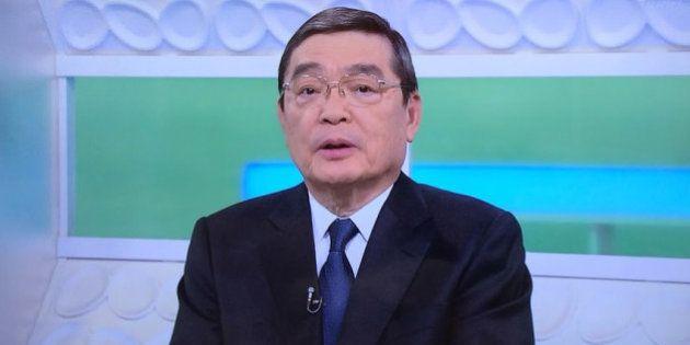 籾井勝人NHK会長、番組で謝罪