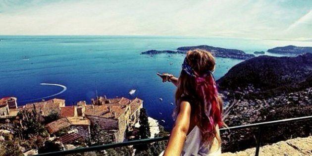 彼女を追いかけて世界中を旅する写真がドラマチック!【画像】