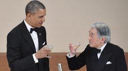 オバマ大統領を招いた宮中晩さん会、メニューは?【画像】