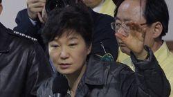 朴槿恵大統領の支持率が急落、旅客船沈没が影響か