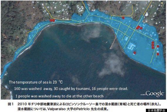 津波を侮るなかれ 50cmなら成人男性8割が流される【動画】