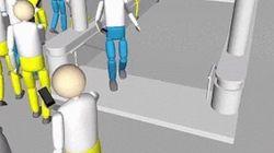 渋谷のスクランブル交差点の歩行者が全員歩きスマホだったら...【動画】