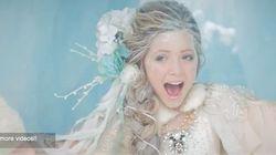 「アナと雪の女王」のテーマソングを歌う11歳が上手すぎる【動画】