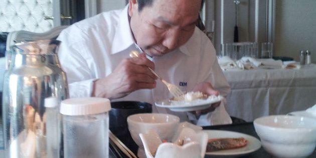 袴田巌さん、朝食のケーキ「おいしい」