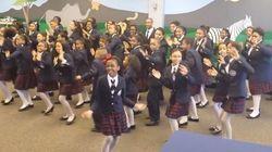 小学生の合唱隊がファレル・ウィリアムスの『Happy』をカバー【動画】