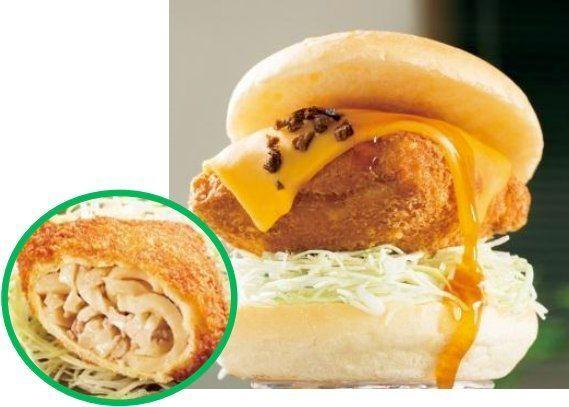 さぬきうどんバーガー、平日も販売へ 新製品の「カツバーガー」も投入