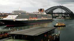 豪華客船「クイーン・エリザベス」が、ベイブリッジを通過した方法とは